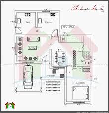 1000 sq ft home plans fresh kerala style 3 bedroom single floor