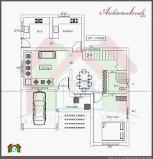 1000 sq ft home plans fresh kerala style 3 bedroom single floor