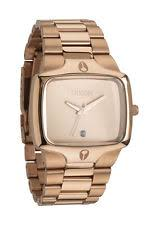 nixon player watch nixon the player men s wrist watch all rose gold