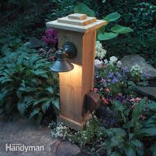 impressive 120v outdoor landscape lighting how to install outdoor lighting and the family handyman