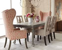 glamorous wingback chairs in dining room traditional with wing chair next to seagr chairs alongside high back dining chairs and dining chair