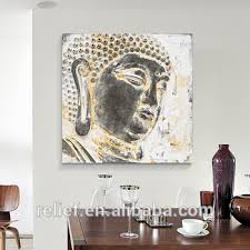 >high quality big size 80cm 3d buddha wall art buddha head painting  high quality big size 80cm 3d buddha wall art buddha head painting