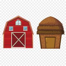 red barn clip art transparent. Age Of Enlightenment Cattle Granary Barn Farm - Vector Red House Clip Art Transparent