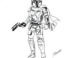 Star Wars Coloring Pages Boba Fett Star Wars Coloring Pages Coloring