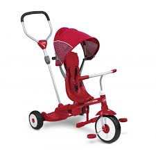 Ride Stand Stroll N Trike Tricycle For Kids Radio Flyer