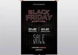 Black Friday Free Psd Flyer Template Psdflyer Co