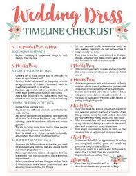 Printable Wedding Timeline Checklist Wedding Dress Planning Timeline Printable Download The