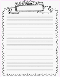Printable Writing Paper With Border Fresh Printable Writing Paper DOWNLOADTARGET 1