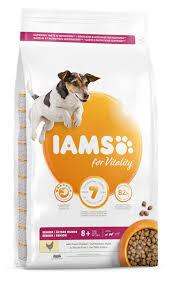 Iams For Vitality Senior Small And Medium Breed Dog Food