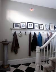 Floating Entryway Shelf Coat Rack Shelf And Coat Rack Foter 4