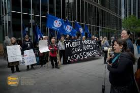 photo essay united against hudbay a protest at hudbay s  photo essay united against hudbay a protest at hudbay s shareholder meeting