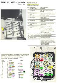 fuse box diagram for 1972 02 general discussion bmw 2002 faq 021973on12 fusecolourcode jpg