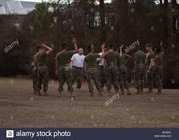 Marine Corps Hand Signals U S Marines Assigned To Ground Supply School Gss Marine