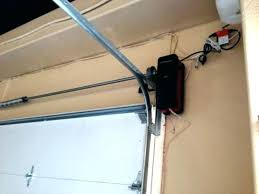 low ceiling garage door opener low overhead clearance garage door opener best wall mount wonderful decor