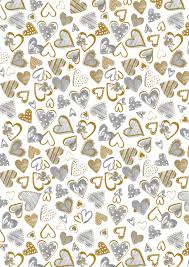 Wedding Gift Wrapper Design With Love Gift Wrap Gold Foiled Luxury Gift Wrap For Those Special Occasions