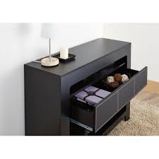 black contemporary sofa tables. Furniture Of America Arroya Modern Black Console Table - Free Shipping Today Overstock 16545110 Contemporary Sofa Tables