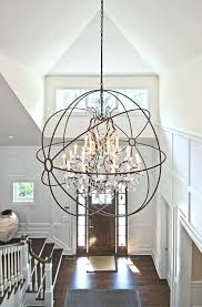 large chandeliers charming large chandeliers for foyer large foyer chandeliers contemporary white wall orb light door