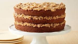 German Chocolate Cake With Coconut Pecan Frosting Recipe Pillsburycom
