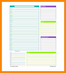 Day Planner Template Word Extraordinary 48 Daily Planner Online Free Download Lobo Development