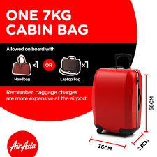 airasia on twitter what can you bring on board one 7kg cabin airasia on twitter what can you bring on board one 7kg cabin bag laptop bag handbag camera bag diaper bag small bag pack t co c7aowlesgv
