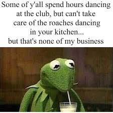 The 25 Funniest Kermit #thatsnoneofmybusinesstho Memes | The Urban ... via Relatably.com