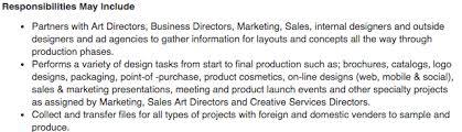 Actual Design Job Description: graphic-designer-job-description