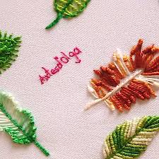 hand embroidery stitches #Embroiderystitches in 2020   Hand embroidery  videos, Sewing embroidery designs, Creative embroidery
