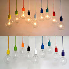 cord lighting. colorful e27 e26 silicone ceiling lamp holder light socket customize rope cord lighting