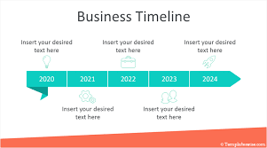 Power Point Time Line Template Business Timeline Powerpoint Template Templateswise Com