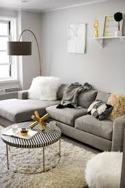 A Modern Monochrome Living Room Front Main