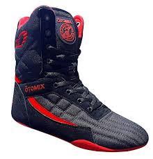 Otomix Mens Pro Tko Super Hi Weightlifting Boxing Shoes