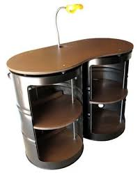 drum furniture. 55 Gallon Drum Steel Cabinet-this Could Be My Work Desk So I Wouldn\u0027t Have To Sit All Day! Furniture