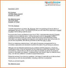 sample medical leave of absence letter from doctor sample leave of absence letter to employee new example template for