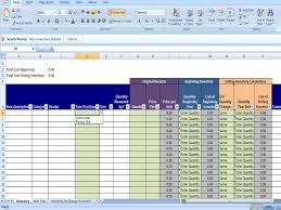 Annual Inventory Template Beginning And Ending Year Inventory