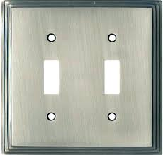 wall plates plate switch pass brushed nickel 2 gang plastic s and covers