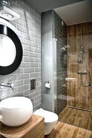 wood tile bathroom wood look tile in bathroom wood grain tile shower with gray subway tile walls a mix