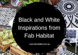 black white inspirations from fab habitat