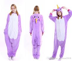 plus size footed pajamas fluffy unicorn onesie pajamas adult cute newcosplay costumes footed