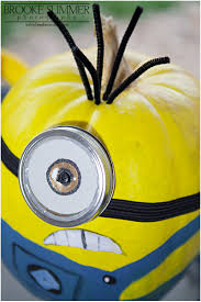 Painted Minion Pumpkins Halloween Traditions And Minions