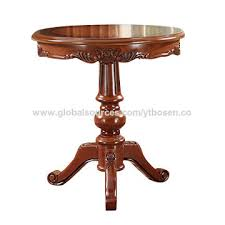 china classic solid wood carved round table coffee table conference table
