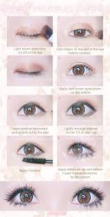 american makeup vs makeup idea photo makeup eye makeup and gyaru makeup