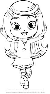 Shimmer And Shine Coloring Pages Shimmer And Shine Coloring Book