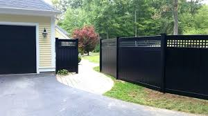 Black vinyl fence Horizontal Black Vinyl Fence Black Privacy Fence Black Vinyl Fence Vinyl Fences Black Vinyl Coated Chain Link Allison Fence Company Black Vinyl Fence Fifridayscom