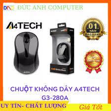 Chuột không dây A4TECH G3 - 280a - 1000DPI - Wireless (hãng phân phối chính  thức) cam kết sản phẩm đúng mô tả chất lượng đảm bảo