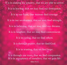 Spiritual Quotes By Mimi Novic Hope Fear Faith Life Dreams Strength
