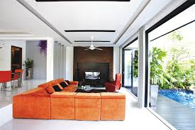 Small Picture A luxurious modern resort like terrace house Home Decor Singapore