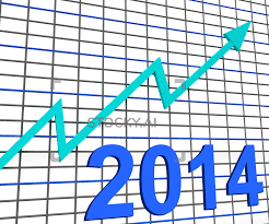 Chart Showing Increase Image Of Twenty Fourteen Graph Chart Shows Increase In 2014