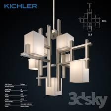 kichler city lights 7 light halogen chandelier