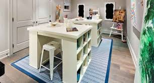 Bedford Project Table - Transitional - Den/library/office - House regarding Craft  Project