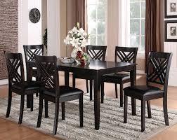 Black Formal Dining Room Set Black 7 Piece Dining Set Is Also A Kind Of Formal Dining Room Sets